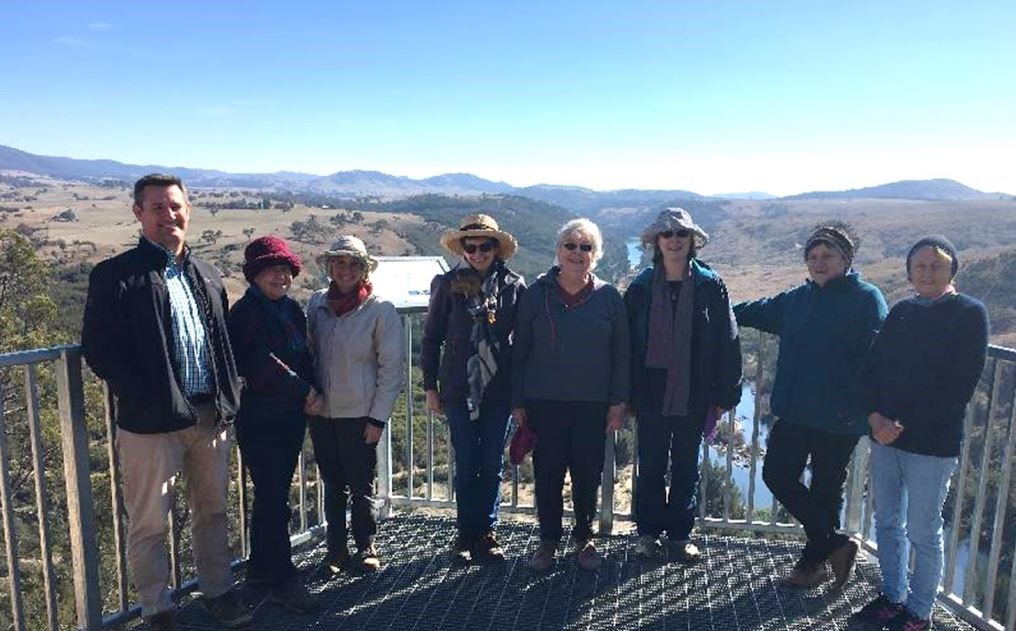VISIT TO GINNINDERRY: THURSDAY 17 MAY – By Sue Cassidy of the Australian garden History Society