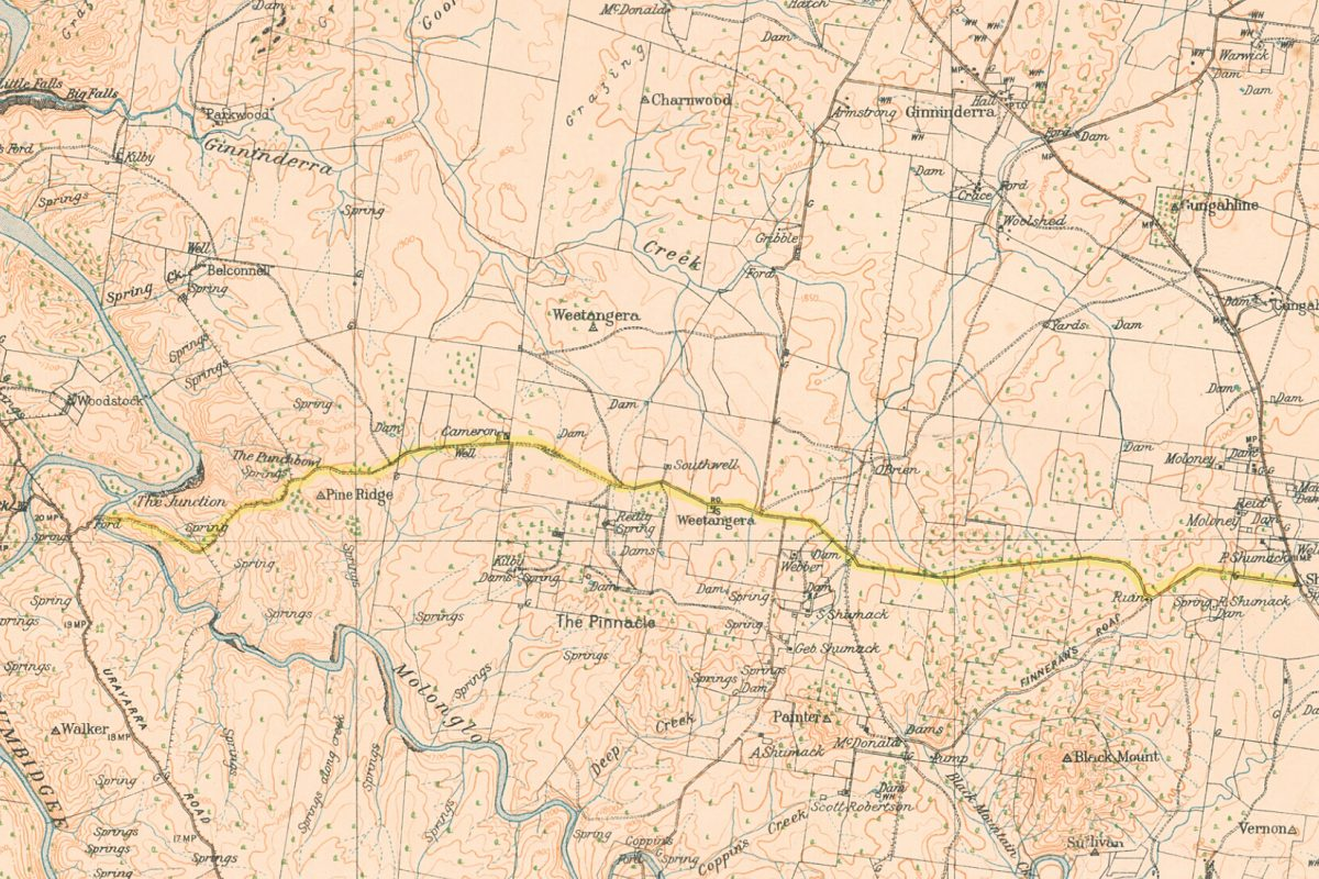 Uncovering the Old Weetangerra Road in and around Ginninderry – By Mary Hutchison