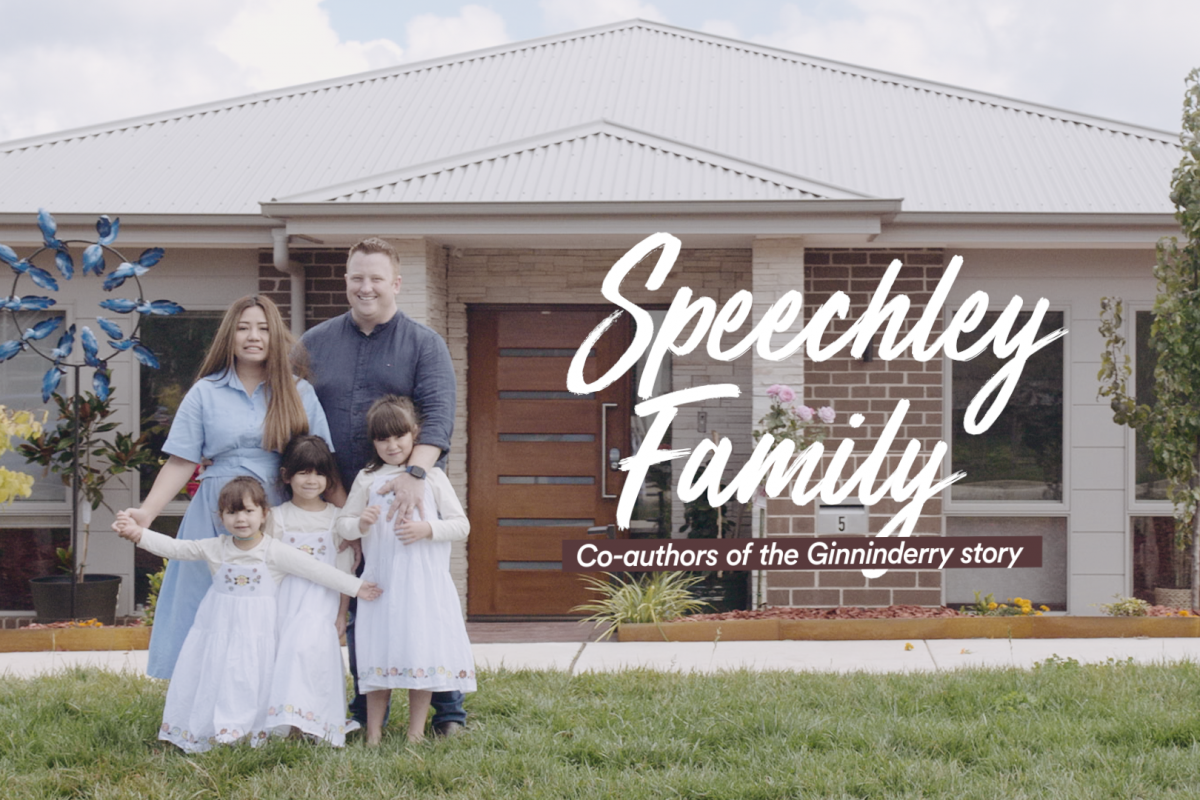 The best place to play. The best place to stay: Meet the Speechleys.