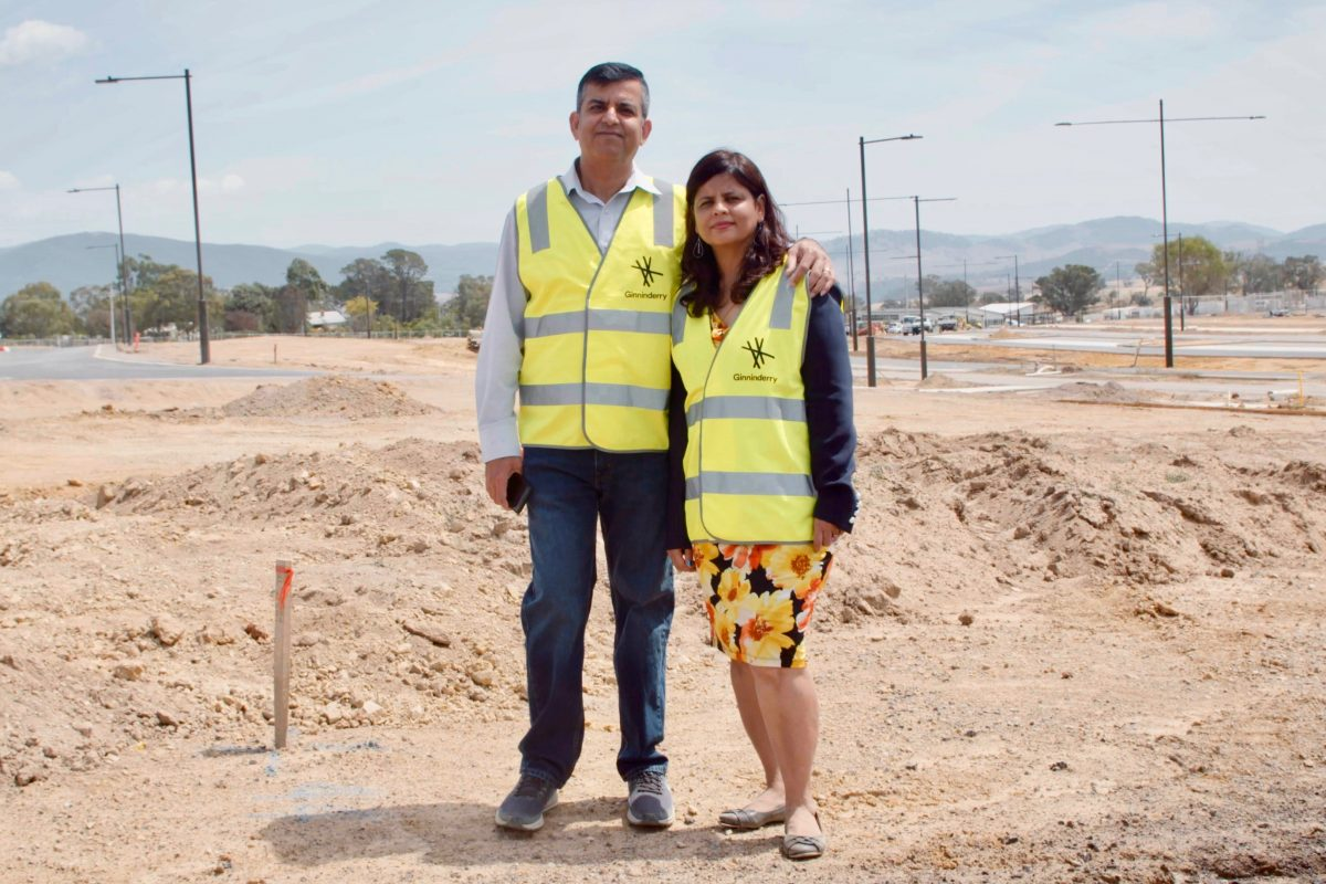 Location, sustainability and affordability – the three reasons why Naveen and Poonam chose Ginninderry.