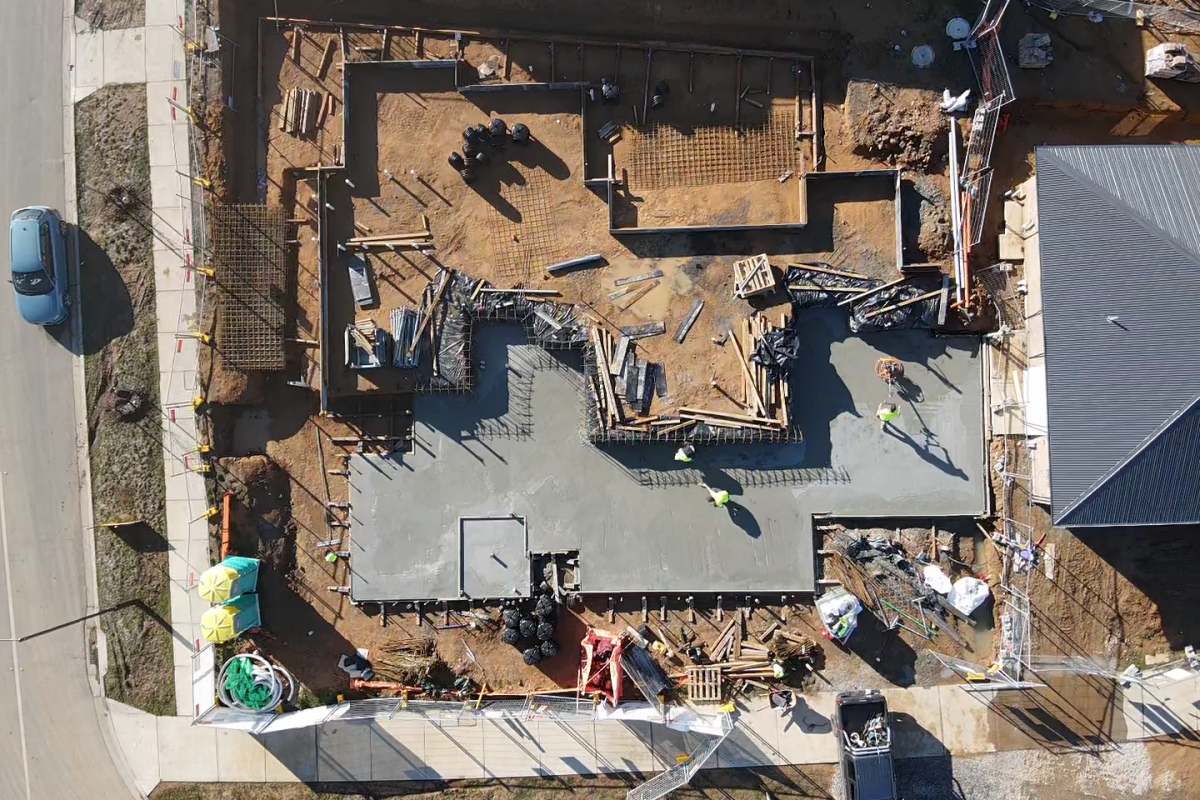Building a foundation for success: The Strathnairn Charity House slab poured