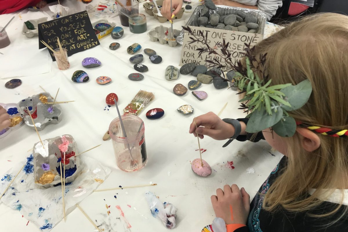 Creativity in action at NAIDOC in the North family event