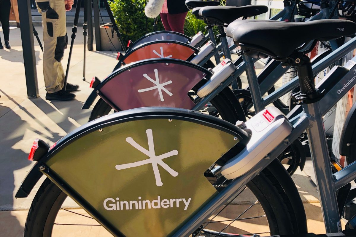 Ginninderry launches Australian first electric-bike sharing initiative