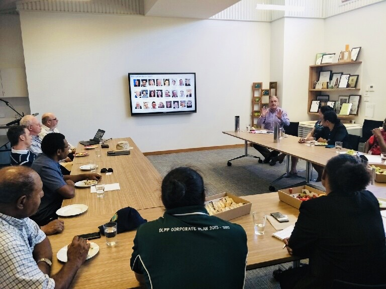 Ginninderry welcomes recent visit from Papua New Guinea delegation