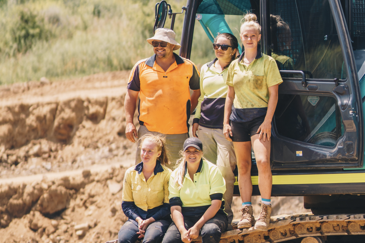 Industry unites to encourage more women to work in the civil construction sector