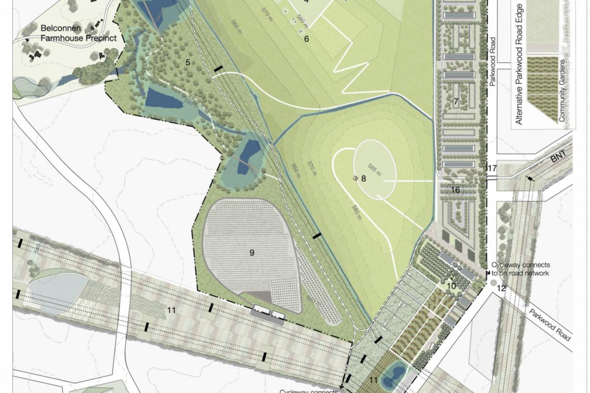 The Future at Ginninderry: Parkwood ReGeneration Precinct
