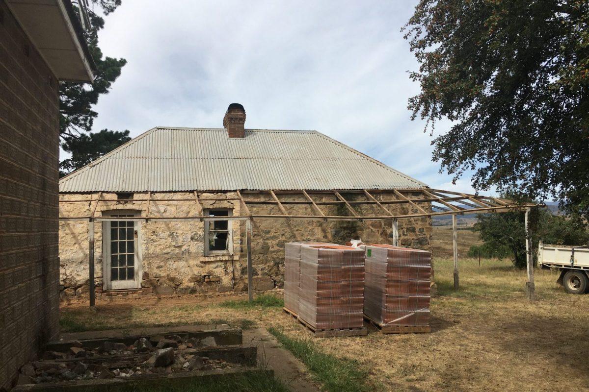 Heritage farmhouse precinct