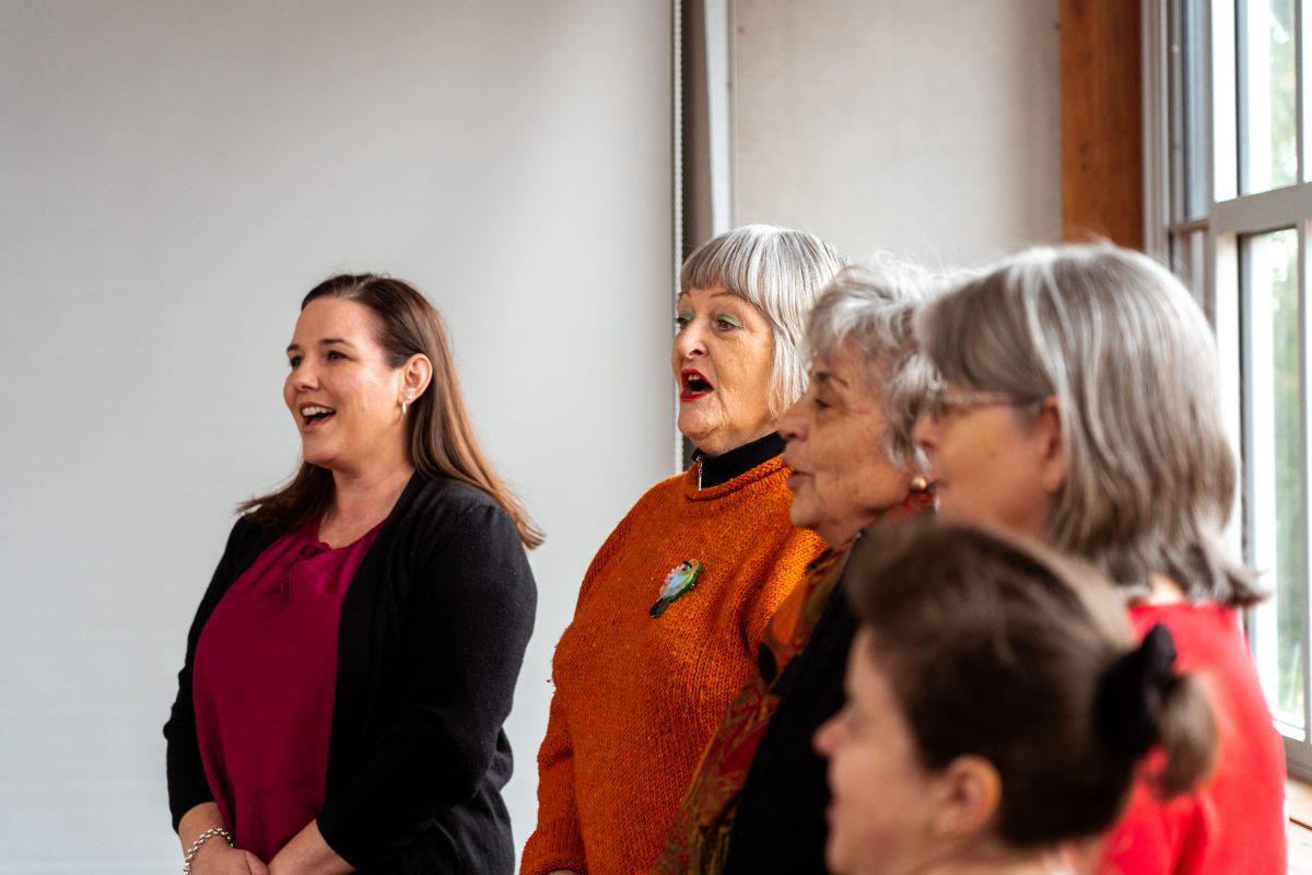 Ginninderry With One Voice Choir – Rehearsal